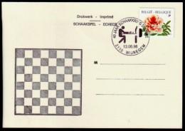 Belgie - Schaken Schach Chess - Wijnegem 13.06.1998 (S.K. Deurne)