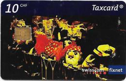 Swisscom: Basler Fasnacht, Verschnaufpause