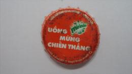Vietnam Viet nam Mirinda used bottle crown cap / Kronkorken / Capsule