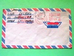USA 1984 Cover Miami Local - Machine Franking Norwegian Starward Ship Cancel - Etats-Unis