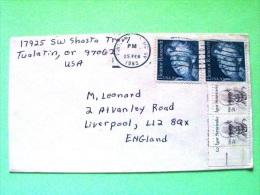 USA 1985 Cover To England - Eleanor Roosevelt - Igor Stravinsky - Music - Lettres & Documents