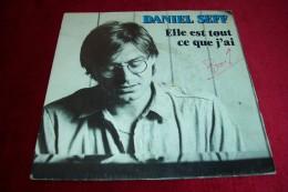 AUTOGRAPHES SUR DISQUE 45 TOURS °  DANIEL SEFF - Autographes