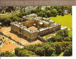 LONDRES - BUCKINGHAM PALACE  Vue Aérienne  / CPM Voyagée 1988 / TTBE/  Voir Timbre Gymnaste Féminine - Buckingham Palace