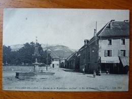 France, Villard De Lans, La Rue De La République; Au Fond: Le Roc De Cornafion - Villard-de-Lans