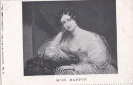 PEOPLE - MISS BARTON - Famous People