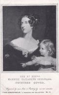 PEOPLE - RT. HON. HARRIET ELIZABETH GEROGIANA. COUNTESS GOWER - Famous People