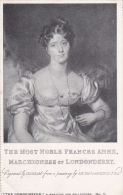 PEOPLE - THE MOST NOBLE FRANCVES ANN3, MARCHIONESS OF LONDONDERRY - Famous People
