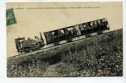 CPA  52  :  LANGRES  Chemin De Fer à Crémaillère   1911     VOIR  DESCRIPTIF   §§§ - Langres