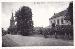 SINTE-MARIA HOOREBEKE / HOREBEKE : Dorpstraat Met Kerk - Horebeke