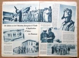 """Magazine Avec Article """"L'Aviation Française à L'Ecole D'Application D'Istres-en-Provence"""" 1939 - 1939-45"""