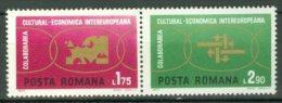 ROMANIA 1972: YT 2680 - 2681 / Mi 3020 - 3021, ** MNH - LIVRAISON GRATUITE A PARTIR DE 10 EUROS - 1948-.... Républiques
