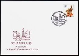 Schaken Schach Chess ajedrez �checs - Belgie 1993 Baarle-Hertog