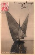 BARQUE DU LEMAN CIRCULEE 1911 - Voiliers