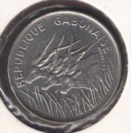 GABON REPUBLIQUE GABONAISE 100 FRANCS 1977 ANIMALS - Gabon