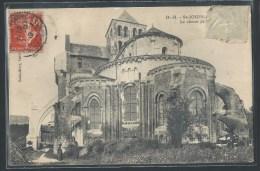 - CPA 79 - Saint-Jouin-de-Marnes, Le Chevet De L'église - Saint Jouin De Marnes