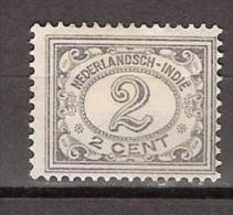 Nederlands Indie Netherlands Indies Dutch Indies 102 MNH ; Cijfer, Cifre, Figure, Cifra 1912-1930 - Indes Néerlandaises