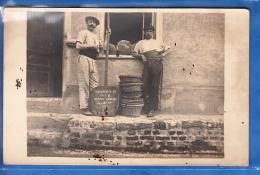 CARTE PHOTO BOULANGER EN CHEF BIERMES ARDENNE 1916 PETITES TACHES