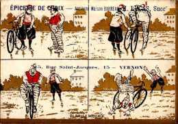 CHROMO EPICERIE DE CHOIX A VERNON...DOS VIERGE... - Other