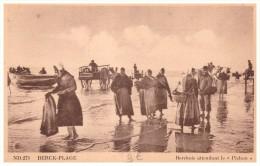 62 Berck Plage    Berckois  Attendant Le Pichon - Berck