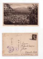 Cartolina/postcard Palagonia (Catania) Panorama preso dall'alto 1941