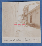 Photo Ancienne - INTRA ( Verbania ) - Une Rue Et Habitant - Ingresso - Lac Majeur -  Verbano Cusio Ossola - Piemonte - Luoghi