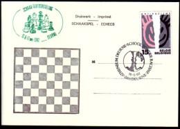 Schaken Schach Chess ajedrez �checs - Belgie Deurne 1992