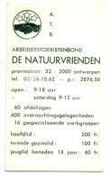 Kleine Zakkalender 1973 - A.T.B. De Natuurvrienden - Calendriers