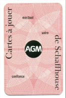Kleine Zakkalender 1972 - AGM Cartes à Jouer - De Schaffhouse - Calendriers