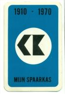 Kleine Zakkalender 1970 - Onderling Hypothecair Krediet - Mijn Spaarkas - Calendriers