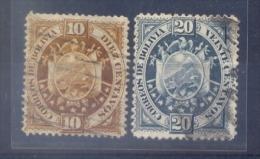 Bolivië - 1894 - Yv. 42/43  Gestempeld - Bolivie