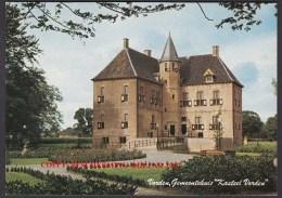 "Vorden , Gemeentehuis ""kasteel Vorden "" Bij Zutphen ....NOT....used See The 2  Scans For Condition. ( Originalscan !!! ) - Zutphen"