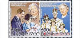 Burkina Faso PA 281/82 **Famille Royal - Burkina Faso (1984-...)