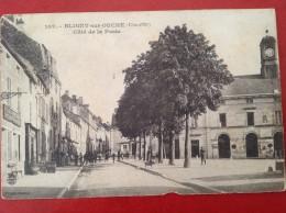 21 Cote D´Or BLIGNY SUR OUCHE  Coté De La Poste - Autres Communes