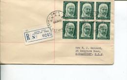 (001) Australia AAT FDC Cover - Registered Davis Base Posted 20 Jan 1962 - FDC