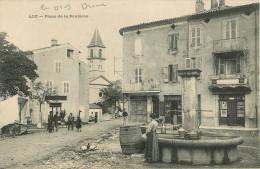 Luc En Diois : Place De La Fontaine - Luc-en-Diois