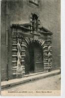 CPA 30 BAGNOLS SUR CEZE PORTE SAINT MAUR 1923 - Bagnols-sur-Cèze