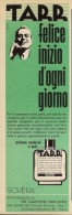 # TARR SCHERK SHAVE LOTION (type 1),  ITALY 1950s Advert Pubblicità Publicitè Reklame Lozione Barba Rasage Rasierwasser - Perfume & Beauty