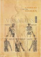 Portugal ** & JOINT ISSUE PORTUGAL / BELGIUM ANDREAS VESALIUS 2014 (68681) - Blokken & Velletjes
