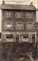 CPA  -  LE  VAL - ANDRE  (22)   HOTEL  GESVRET   (  Carte Abimée)   Scan Recto - Verso - France