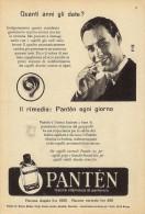 # PANTEN LOZIONE CAPELLI, ITALY 1950s Advert Pubblicità Publicitè Reklame Hair Cheveux Haar Beautè - Perfume & Beauty