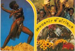 Afrique - danseuse - enfants