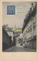 CARTE MAXIMUM CARD PRAHA VALDSTYNSKA ULICE PRAGUE RUE WALDSTEIN - Postales