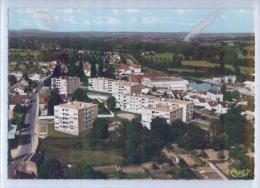 DOMPIERRE-sur-BESBRE - VUE AERIENNE  - H. L. M. DES BRIFFAUDS - France