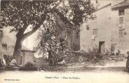 83 CUERS PLACE DU PATILLON FONTAINE TBE - Cuers