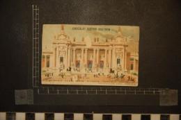 Chromo, Image, Publicité, Chocolat Guérin Boutron Exposition 1900 Grand Palais Des Champs Elysées Portique Central - Guerin Boutron