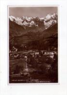 Cartolina/postcard Pré Saint Didier - Panorama Sfondo Catena Del Monte Bianco - Italia