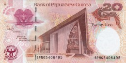 20 Kina Bank Of Papua New Guinea - Guinea