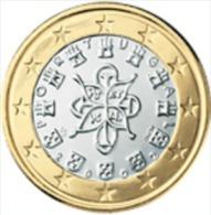 Portugal 2004      1 Euro     UNC Uit De Rol  UNC Du Rouleaux  !! - Portugal