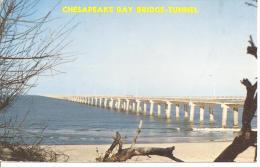 CHESAPEAKE BAY BRIDGE -TUNNEL,COULEUR  REF 39485 - Chesapeake
