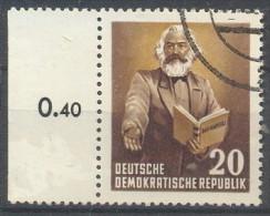 M.I. N° 348  GEST.  MU - Used Stamps